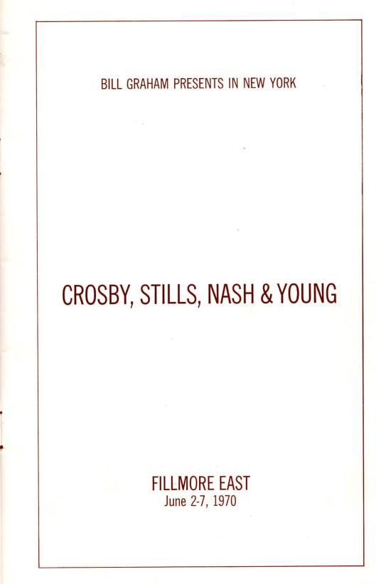 CSNY June 1970