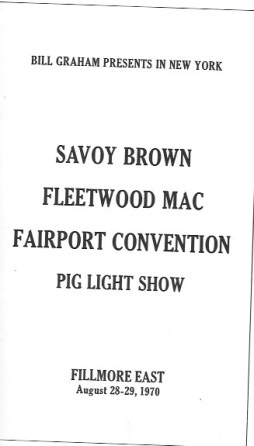 Savoy: Flletwood Aug 70
